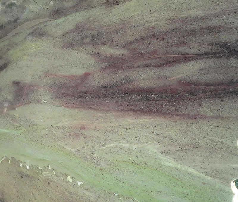 Wild Sea Granite Silver Travertine 2 at Barra & Trumbore